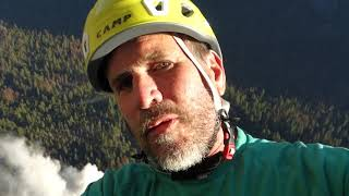 FIRST DAY ROCKFALL - El Cap - raw withheld from networks