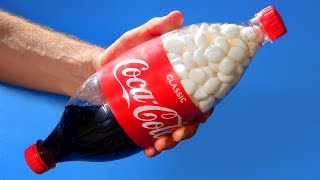 8 Crazy Coca Cola Experiments