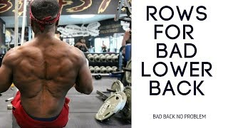 My MRI Results | How To Get A Back Workout With A Bad Lower Back