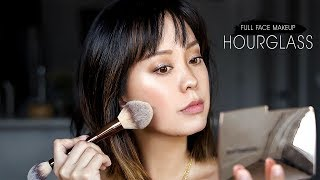 FULL FACE USING HOURGLASS MAKEUP