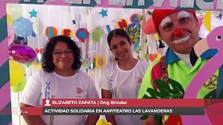 ELIZABETH ZAPATA - ACTIVIDAD SOLIDARIA