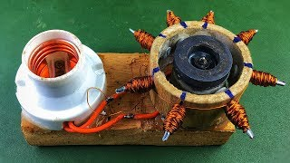 100% of Electronics Free Energy Generator From DC Motor , New Science Project 2019