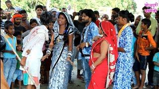 Bhojpuri Comedy~बुड़वा पगलाईल बा बियाह करे खातिर~पंडित जी पतोह से भाईल झागड़ा~khesari 2,Neha ji