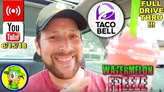 Taco Bell®   Watermelon Freeze Review! (LIVE REPLAY) 🌮🔔🍉🥤