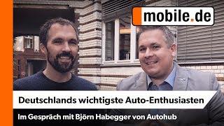 Björn Habegger besucht mobile.de | Deutschlands wichtigste Auto-Enthusiasten