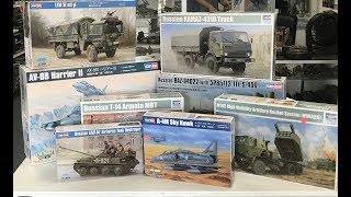 New Model kits from Trumpeter and Hobbyboss June 2018