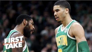Jayson Tatum not Kyrie Irving will drive the Celtics' NBA playoff run - Stephen A. | First Take