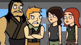 Original Fortnite Animation | Squad's First Drop