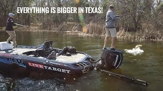 Everything is Bigger in TEXAS - Lake Monticello Texas Pt.2 SMC 13:13