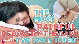 The Most Painful Recovery Therapy I've Ever Tried! (IASTM) - No Sweat: EP14