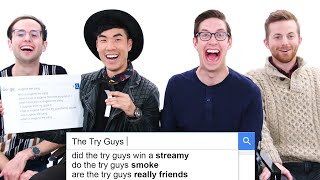 The Try Guys Answer the Web's Most Searched Questions   WIRED