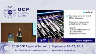 Immersion Cooling for Research and Colocation A case study in cooperation with OCP members