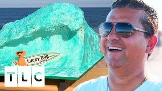 Surfing Themed Cake For A Beach Party Surf Competition! | Cake Boss