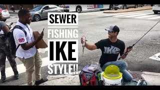 Mike Iaconelli Fishing In The Sewers Of Philadelphia