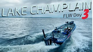 Fishing to WIN 125k for the 4th time on Champlain...Stressful!