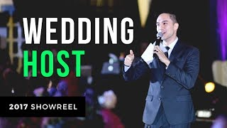 JC Alelis Wedding Host