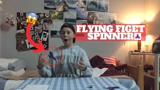 HOW TO MAKE ANY FIDGET SPINNER FLY!! ߷