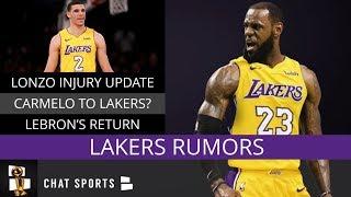 Lakers Rumors: Brandon Ingram Trade, Lonzo Ball Out A Month, LeBron James Returning Next Week