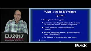 Jerry Tennant: Healing is Voltage - The Physics of Emotions | EU2017