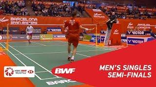 SF | MS | Viktor AXELSEN (DEN) [1] vs REN Pengbo (CHN) | BWF 2019