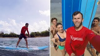 SURFING IN HAWAII | Brodie & Kelsey