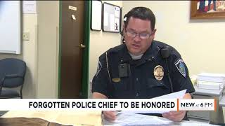 Darlington police chief who was forgotten for the last 86 years to be honored for line-of-duty death