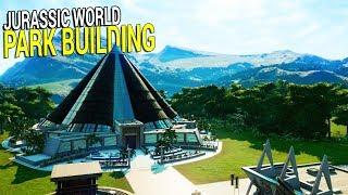 Let's Build - Jurassic World Evolution | T-Rex, Raptors, and Even More Huge Profits!