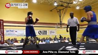 Ana Pina vs. Diamond Tello Joliet Luna Boxing 2015