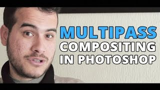 Multipass Compositing in Photoshop - Vray Render Elements