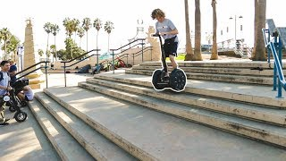 Going Down Stairs On A Segway!
