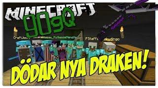 Minecraft 90gQ - DÖDAR NYA DRAKEN! EVENT! ELYTRA!?