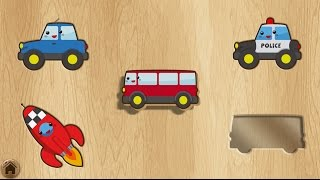 Puzzle Game For Kids | Puzzle Games Compilation | Street Vehecles Vehicles Games