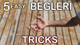 5 EASY BEGINNER BEGLERI TRICKS !!