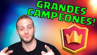SUBIMOS A GRANDES CAMPEONES CAMBIANDO SOLO UNA CARTA DE MI MAZO! | Clash Royale en Español