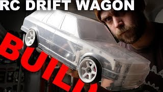 Scale Drift Project - E30 DRIFT WAGON - D9 BULLDOG build Ep01