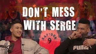 Kyle Kuzma is not interested in fighting Serge Ibaka
