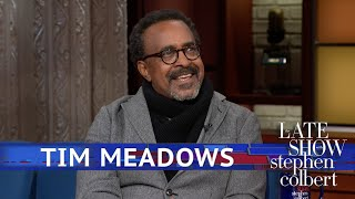 Tim Meadows Can't Reprimand His 6'2″ Teenager