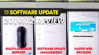Software Update - 2019.12 Review