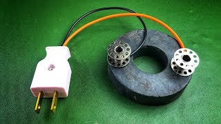 Free energy generator science electric experiment 2019