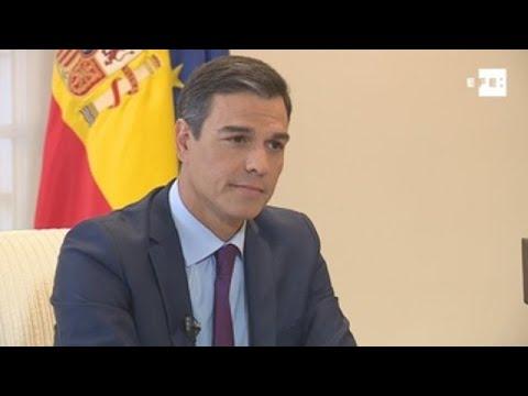 Entrevista de Efe al presidente del Gobierno  Pedro Sánchez  (parte 2)