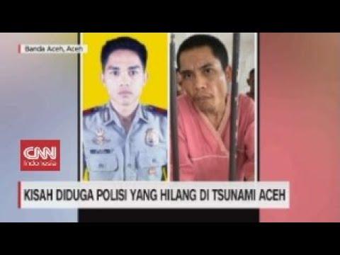 Kisah Diduga Polisi yang Hilang di Tsunami Aceh
