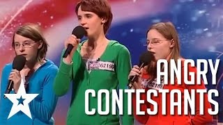 Acts With Attitude: 5 Angriest Contestants on Got Talent