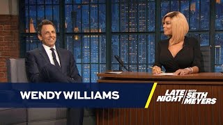 Wendy Williams Hosts Late Night with Seth