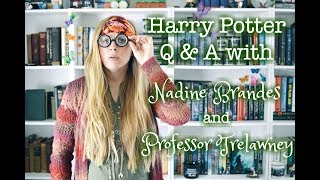Harry Potter Q&A with Professor Trelawney - WHAT IS MY BOGGART?