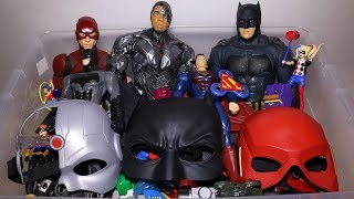 Box of Toys: Cars, DC Superheroes, Hand Spinners, Batman, Cyborg, The Flash Action Figures and More