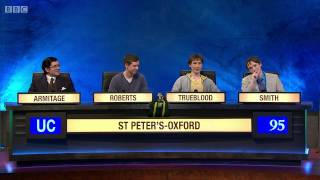University Challenge S44E26 Oxford Brookes vs St Peter's Oxford