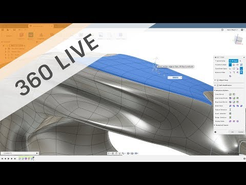 360 LIVE: Sculpting Generative Results