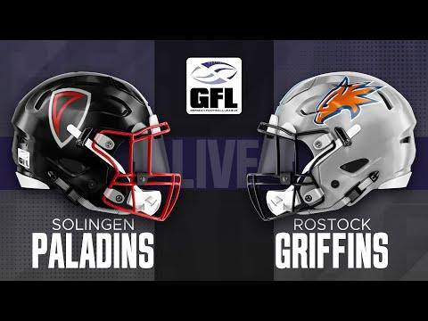 GFL2 Spiel der Woche: Solingen Paladins - Rostock Griffins