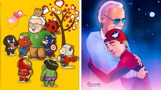 Stan Lee Fans All Over The World Are Already Sharing Tribute Art In Honor Of This Legendary Man
