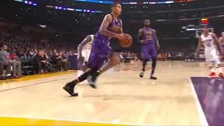 Kyle Kuzma dunk over Anthony Davis